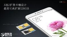 Novedad: El Xiaomi Max tendrá una bandeja SIM 2 en 1