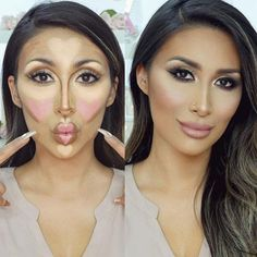 If you wish to learn how to contour your face, visit our photo gallery and find all answers. Contouring is easier than you have ever imagined.
