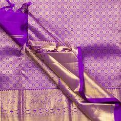 Kanakavalli Handwoven Kanjivaram Silk Sari 1000428 - Sari / Kanjivarams - Parisera