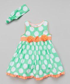 Fuchsia Polka Dot Halter Dress - Infant, Toddler & Girls   something special every day