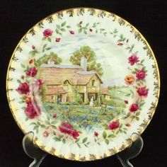 Royal Albert Old Country Roses Four Seasons SPRING Plate 1st Quality VGC