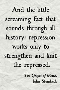 Grapes of Wrath quote