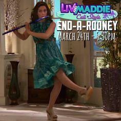 The final flute #LivAndMaddieCaliStyle #EndARooney , 3/24 @disneychannel @kalirocha @johndbeck @dovecameron @joeybragg @tenzingtrainor