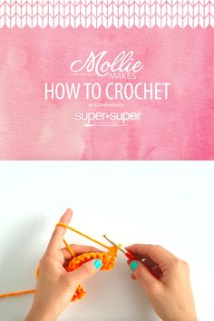 FREE Mollie Makes How to Crochet course - video series, Thanks so xox ☆ ★…