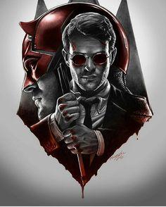 #Marvel:Daredevil   Matt Murdock(Daredevil) <3