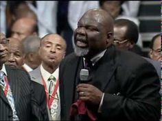 If You Want To See A Real Flow Of the Holy Spirit (It's In The House Bishop Jakes preaching at the 101st Holy Convocation