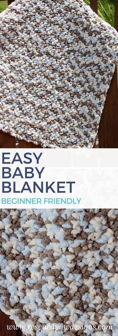 Crochet Baby Blanket Pattern ⋆ Rescued Paw Designs Crochet