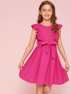 Frocks For Girls, Kids Frocks, Cute Dresses, Girls Dresses, Flower Girl Dresses, Cute Girl Outfits, Kids Outfits, Moda Junior, Frocks And Gowns