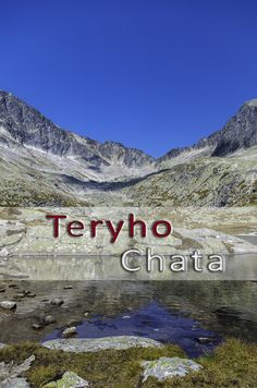 A mountain lake (pleso in Slovak) outside Teryho Chata  http://tripandtrail.com/priecne-sedlo-back/