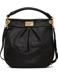 online shopping for Marc Marc Jacobs Hillier Leather Handbag from top store. See new offer for Marc Marc Jacobs Hillier Leather Handbag Leather Handbags Online, New Handbags, Black Leather Handbags, Leather Bag, Marc Jacobs Handbag, Shoulder Purse, Hobo Bag, Purses And Bags, Dust Bag