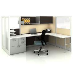 Office Space on Pinterest   L desk, Desk office and Corner desk with