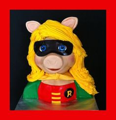 Miss Piggy Cake by FlourPowerBrownwood