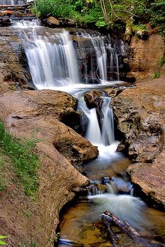 Sable Falls in the Upper Penninsula of Michigan