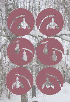 Schneeglöckchen Plotter-Freebie: Das Plotter-Freebie enthält 6 Schneeglöckchen: 3 Motive und je eines mit Steg und eines ohne Steg. Bei festem Papier sind die Schneeglöckchen ohne Steg stabil genug. Wer gerne zarteres Material nutzen möchte, kann die Varianten mit Steg nutzen.