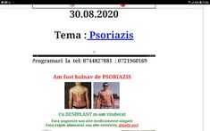 PSORIAZIS-CORESPONDENTA DENIPLANT: Psoriazisul depinde de microbiomul intestinal si c... Plant