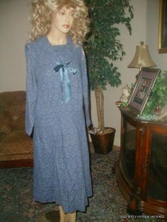 Vintage Laura Ashley Soft Wool Cotton Sailor Gatsby Deco Bib Collar Retro Dress