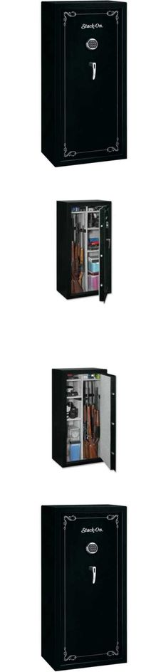 Cabinets and Safes 177877: Stack-On 22 Gun Security Safe With Electronic Lock Ss-22-Mb-E Matte Black -> BUY IT NOW ONLY: $504.95 on eBay!