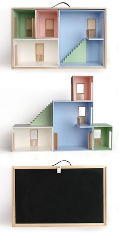 doll house I like that it is modular and you can rearrange the room layout