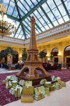 Intercontinental Hotel, Laduree    Paris