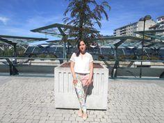 Dulce y Chic by Nuria: Pantalon flores