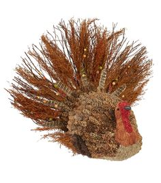 Fall For All Pinecone Turkey Tabletop Decor XXL