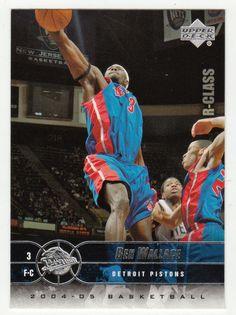 Ben Wallace # 24 - 2004-05 Upper Deck R-Class Basketball