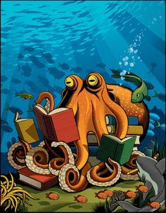 One Smart Octopus by Chris Gall