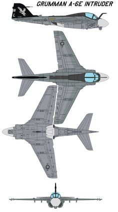 A-6E Intruder The A-6E was an all-weather, two seat, subsonic, carrier-based attack aircraft. It was equipped with a microminiaturized digital computer, a solid state weapons release system, and a ...