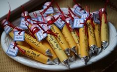 Give school a sweet start with these ideas for back-to-school treats for your kids' classroom!