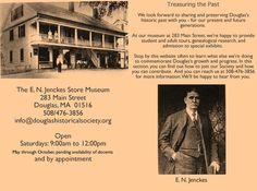 The E. N. Jenckes Store Museum, Douglas MA