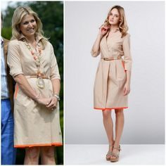 Queen Maxima's dress by Natan