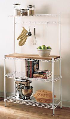 3 foot wide baker's rack