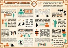 Swungover  - Lindy Hopper's Etiquette Infographic by Holy Lindy Land