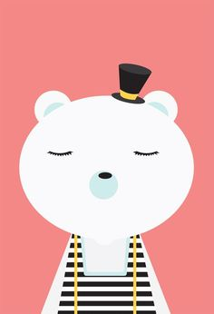 Blogando aos vinte e tantos: Poster para quarto de bebê