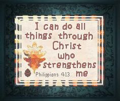 Thrilling Designing Your Own Cross Stitch Embroidery Patterns Ideas. Exhilarating Designing Your Own Cross Stitch Embroidery Patterns Ideas. Cross Stitch Kits, Cross Stitch Charts, Cross Stitch Designs, Cross Stitch Patterns, Cross Stitching, Cross Stitch Embroidery, Philippians 4 13, Hand Embroidery Patterns, Verses