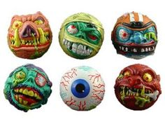 Madballs I think. Retro Toys, Back In The Day, Childhood Memories, Old School, Nostalgia, Old Things, Geek Stuff, Carving, Christmas Ornaments