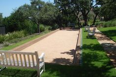 Image result for bocce ball court in backyard