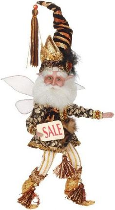 Mark Roberts Fairies 51-31912 Shopping Therapy Fairy Sm.