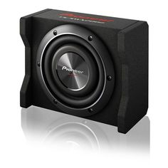 "Pioneer 8"" Shallow Mount Pre-Loaded Enclosure 600W"