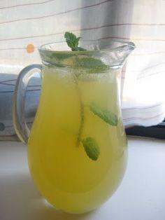 Chá verde, limão e hortelã - Receita Petitchef