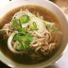 Easy Version Vietnamese Beef Rice Noodle (Pho) with Premade Stock – What Are We Having Tonight? Vietnamese Pho Soup Recipe, Rice Noodle Recipes, Beef Noodle Soup, Beef And Rice, Casual Dinner, Rice Noodles, Beef Recipes, Cravings, Dinner Recipes