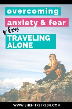 Solo travel comes with many highs and lows. One minute you're on top of the world and the next you're wondering if you've made the right decision. Check out these tips and tricks to overcome anxiety, fear, and doubt on your travels! #solotravel #solofemaletravel Travel Abroad, Asia Travel, Travel Usa, Travel Jobs, Work Travel, Best Countries To Visit, Overcoming Anxiety, Best Places To Travel, Make New Friends