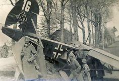 Fieseler Fi.156 Stork operazione Niwi ed Hedderich