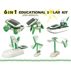 6-in-1 Educational Solar Kit  is one of the 100 Best Children's Products