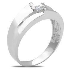 Ebay NissoniJewelry presents - Men's 1/10CT Diamond Weddign Band in 14k White Gold with a Cage Back    Model Number:GR9486B-W477    http://www.ebay.com/itm/Men-s-1-10CT-Diamond-Weddign-Band-in-14k-White-Gold-with-a-Cage-Back/321612124159