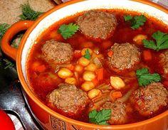 Два вкусных варианта супа, фрикадельки с нутом и рыбный на сливках