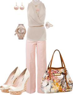 """Neutrals"" by johnna-cameron on Polyvore"