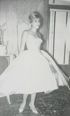 Frani Giordano (American Bandstand regular). The Lennon Sisters, American Bandstand, Prom Night, Good Old, 1950s, Wedding Dresses, Memories, Dance, Rock