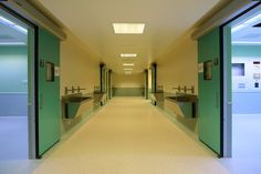 Hospital (Scrub-in area).