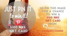 Follow #VisianICL on #Pinterest and repin this photo for a chance to win $100 #NIKE gift card! #giveaway #sweepstakes #VisianICLSummer ENTER HERE: http://benefits.visianinfo.com/pin-it-to-win-it/